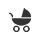 Préstamo de cochecitos para bebés