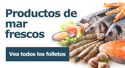 Productos de mar frescos