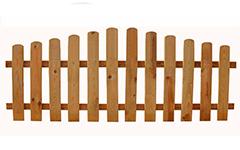 Valla de madera