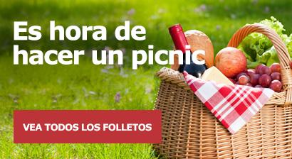 Es hora de hacer un picnic